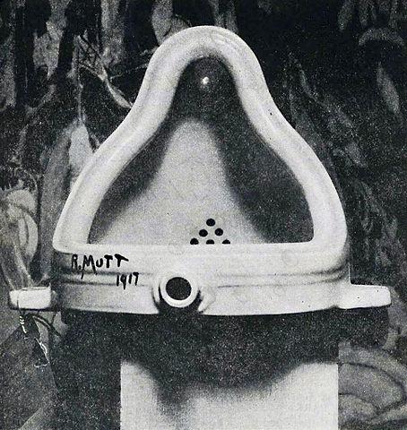 マルセル・デュシャン「泉」