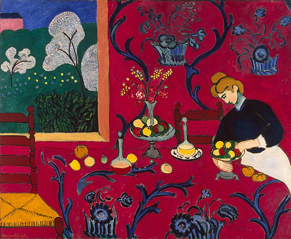"Henri Matisse ""The Red Room"""