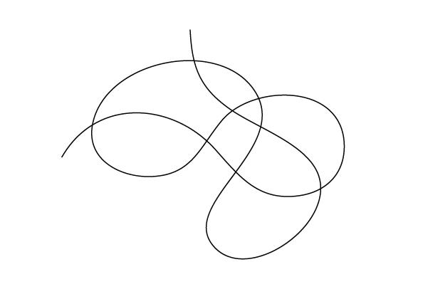 [図7]指向性のない線