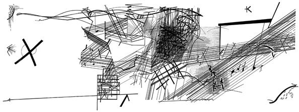 ダニエル・リベスキンドの作品「チェンバーワークス」