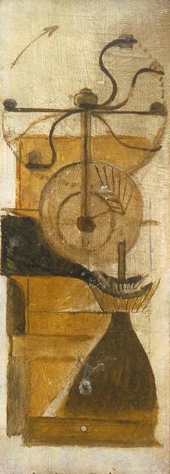 マルセル・デュシャン『コーヒー・ミル』(1911)