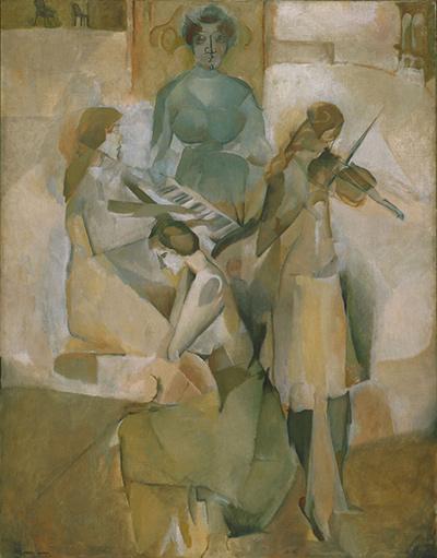 マルセル・デュシャン『ソナタ』(1911)