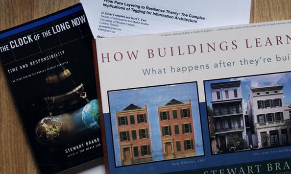 ペースレイヤリングに関する書籍や文献